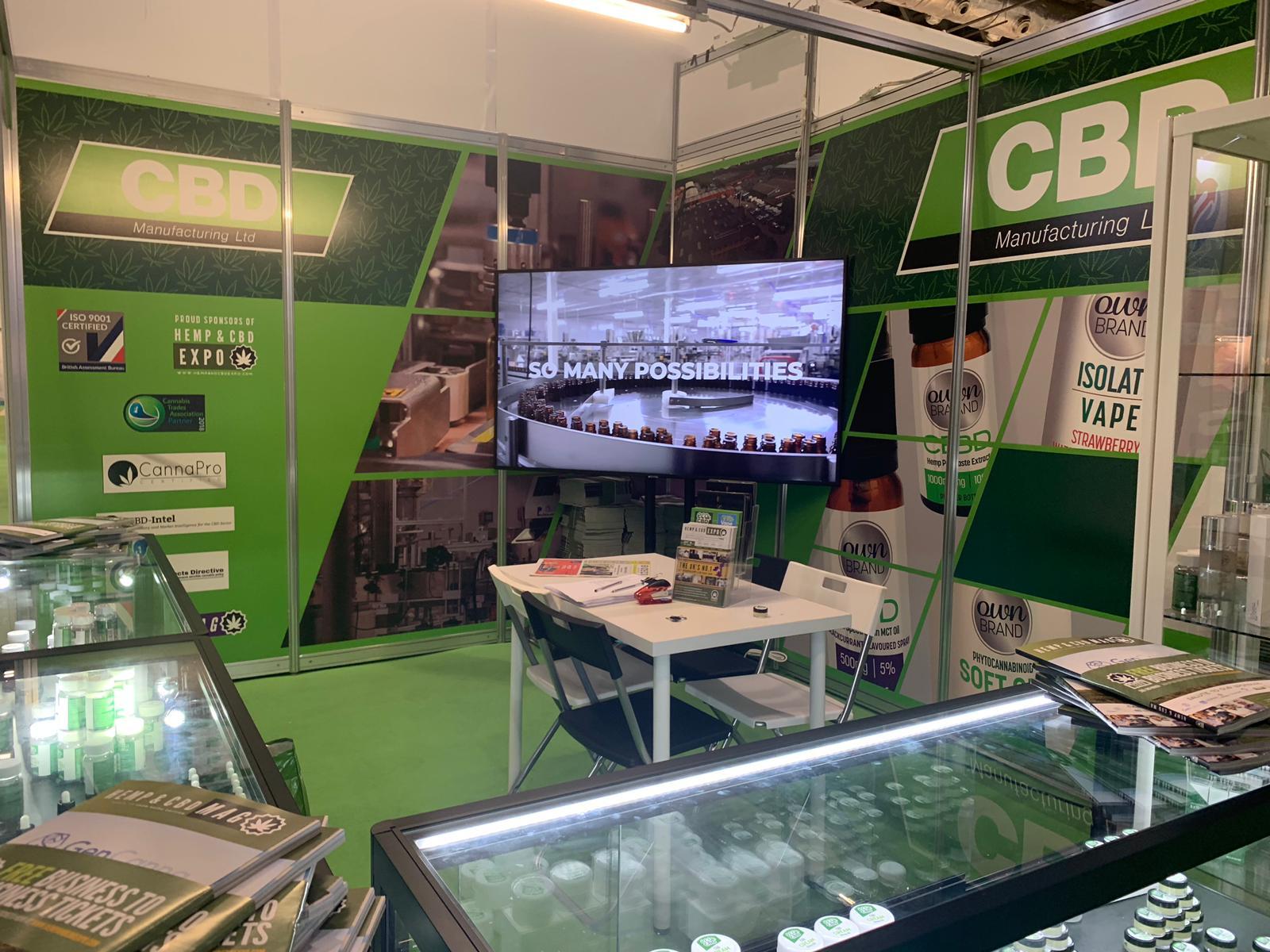 Events - CBD Manufacturing - cbd oil product manufacturing UK